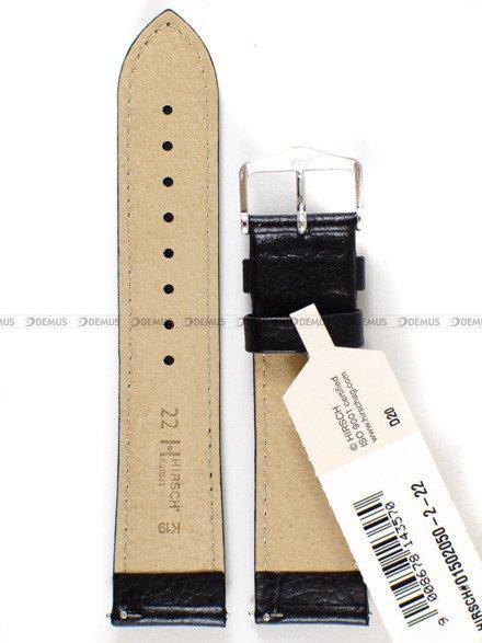 Pasek skórzany do zegarka - Hirsch Kansas 01502050-2-22 - 22 mm
