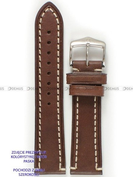Pasek skórzany do zegarka - Hirsch Liberty 10900210-2-18 - 18 mm