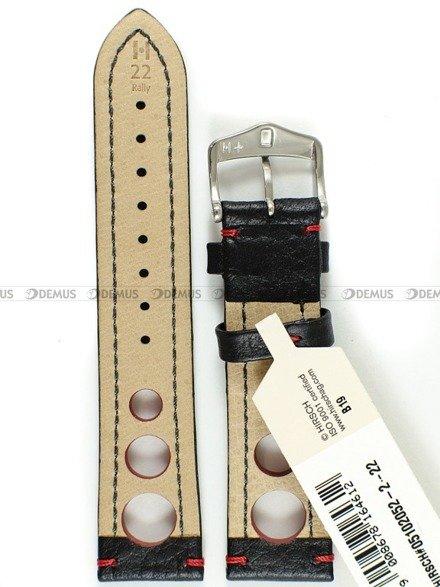 Pasek skórzany do zegarka - Hirsch Rally 05102052-2-22 - 22 mm