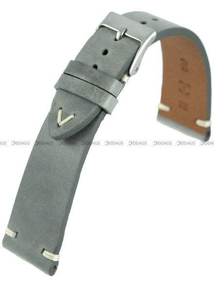 Pasek skórzany do zegarka - Horido 9450.07.22S - 22 mm - Zwężany