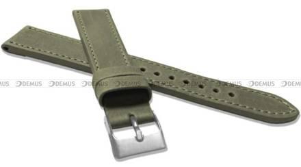 Pasek skórzany do zegarka - LAVVU LSAXG20 - 20 mm - XXL