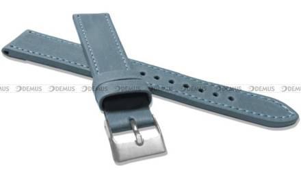 Pasek skórzany do zegarka - LAVVU LSAXJ20 - 20 mm - XXL