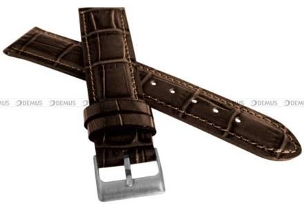 Pasek skórzany do zegarka - LAVVU LSIUC20 - 20 mm