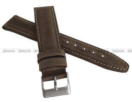 Pasek skórzany do zegarka - LAVVU LSKUC24 - 24 mm