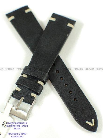 Pasek skórzany do zegarka - LAVVU LSNUB24 - 24 mm