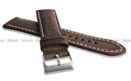 Pasek skórzany do zegarka - LAVVU LSRUC18 - 18 mm