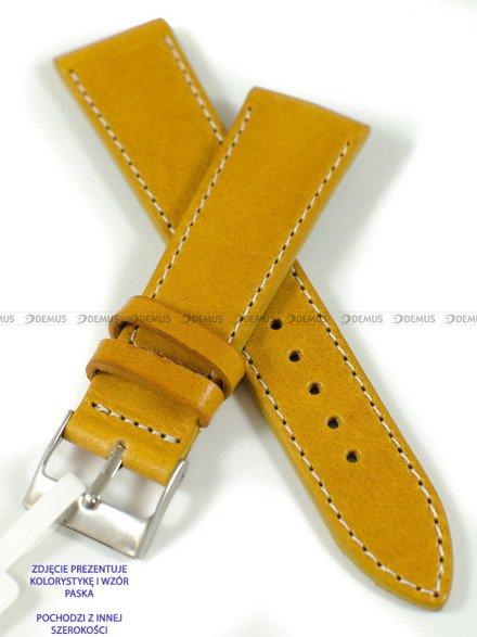 Pasek skórzany do zegarka - LAVVU LSSUO20 - 20 mm