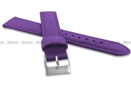 Pasek skórzany do zegarka - Minet MSBUF16 - 16 mm