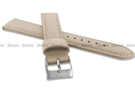 Pasek skórzany do zegarka - Minet MSBUI20 - 20 mm