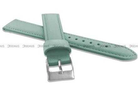 Pasek skórzany do zegarka - Minet MSBUT16 - 16 mm