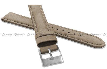 Pasek skórzany do zegarka - Minet MSNUC20 - 20 mm