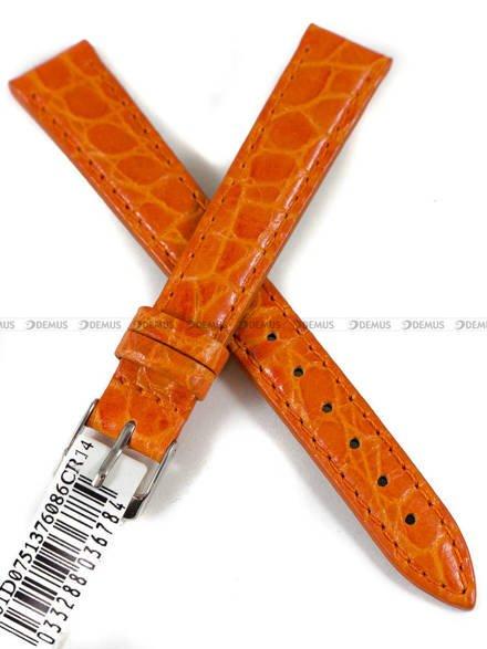 Pasek skórzany do zegarka - Morellato A01D0751376086CR14 - 14 mm
