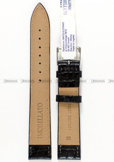 Pasek skórzany do zegarka - Morellato A01U0751376019 18mm