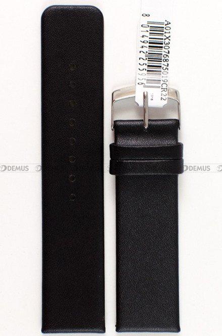 Pasek skórzany do zegarka - Morellato A01X3076875019 22mm