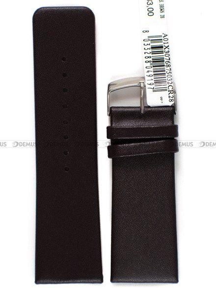 Pasek skórzany do zegarka - Morellato A01X3076875032 28mm