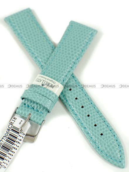 Pasek skórzany do zegarka - Morellato A01X3266773068CR18 - 18 mm