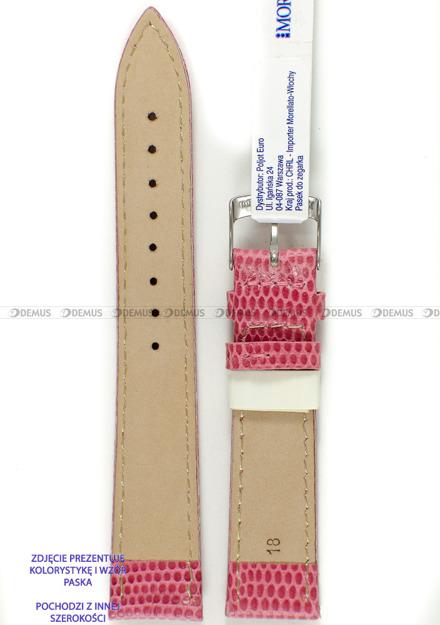 Pasek skórzany do zegarka - Morellato A01X3266773369CR14 - 14 mm