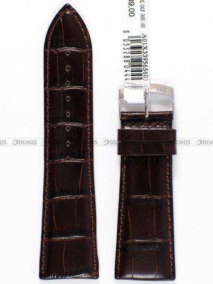 Pasek skórzany do zegarka - Morellato A01X3395656032 26mm