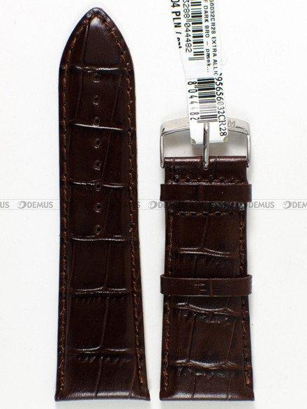 Pasek skórzany do zegarka - Morellato A01X3395656032 28mm