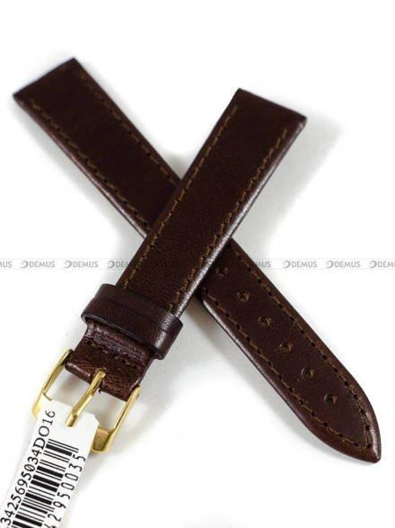 Pasek skórzany do zegarka - Morellato A01X3425695034DO16 - 16 mm