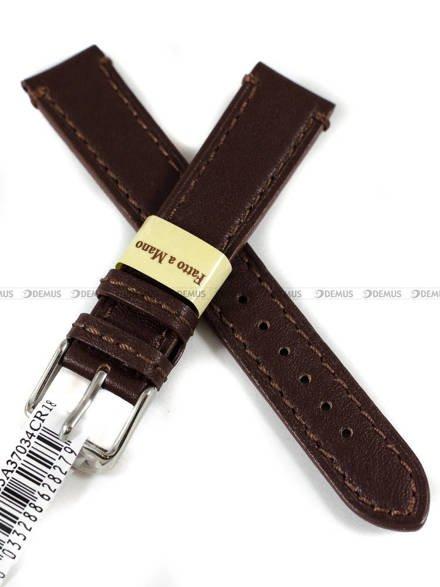 Pasek skórzany do zegarka - Morellato A01X4435A37034CR18 - 18 mm