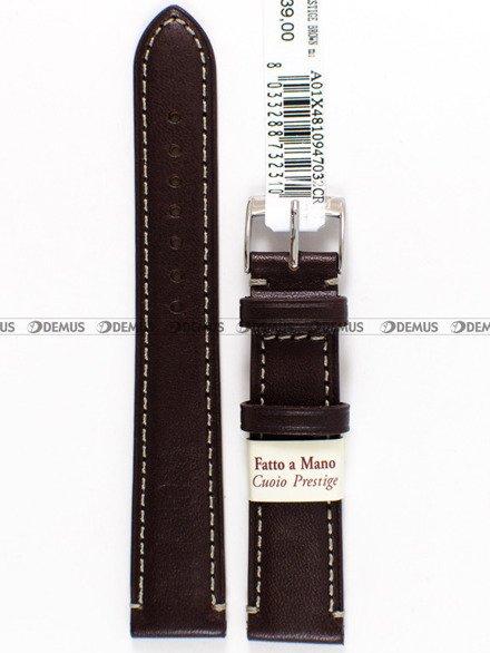 Pasek skórzany do zegarka - Morellato A01X4810947032 - 20 mm