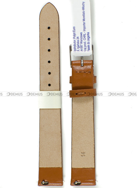 Pasek skórzany do zegarka - Morellato A01X5200875137CR14 - 14 mm