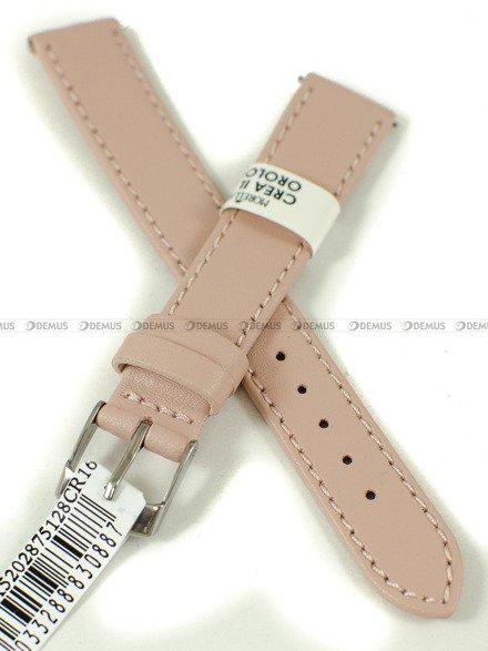 Pasek skórzany do zegarka - Morellato A01X5202875128CR16 - 16 mm
