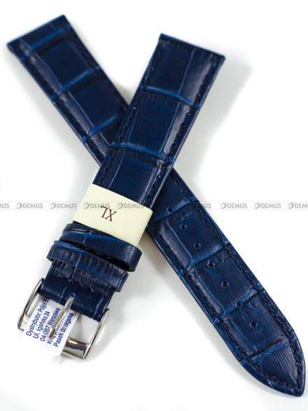 Pasek skórzany do zegarka - Morellato A01Y2269480061CR20 - 20 mm - XL