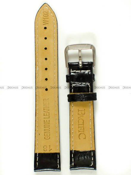 Pasek skórzany do zegarka - Pacific W102.18.1.7 - 18 mm