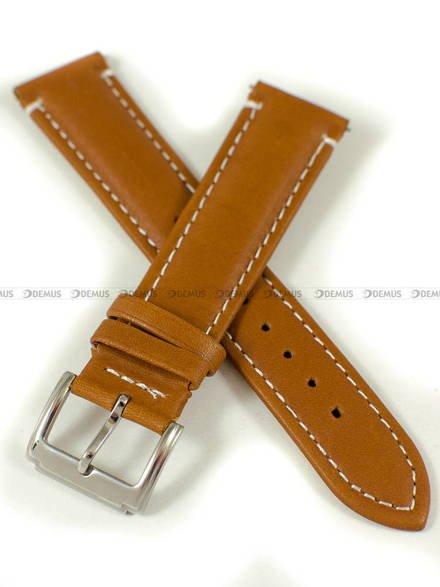 Pasek skórzany do zegarka - Pacific W103.20.3.7 - 20 mm