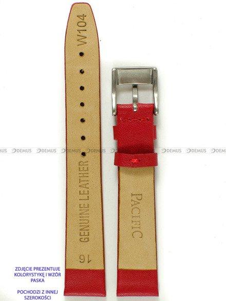 Pasek skórzany do zegarka - Pacific W104.18.4 - 18 mm