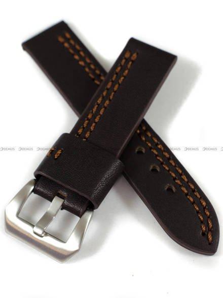Pasek skórzany do zegarka - Pacific W119.22.2.3 - 22 mm