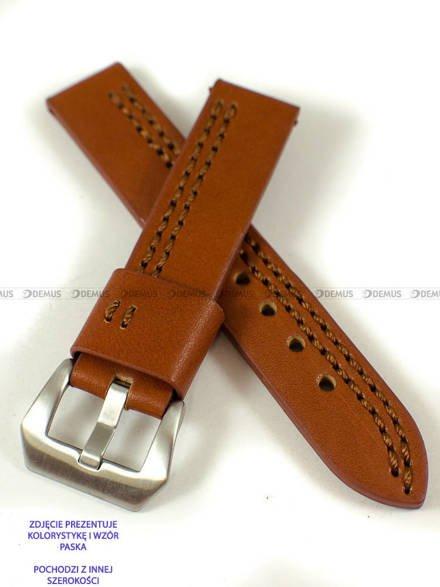Pasek skórzany do zegarka - Pacific W119.24.3.3 - 24 mm