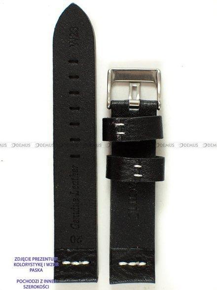 Pasek skórzany do zegarka - Pacific W23.26.1.7 - 26 mm