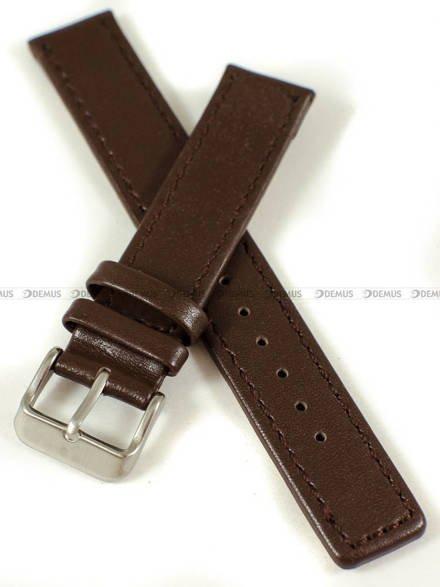 Pasek skórzany do zegarka - Pacific W37.18.2.2 - 18 mm