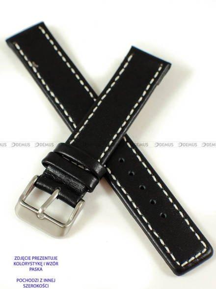Pasek skórzany do zegarka - Pacific W37.20.1.7 - 20 mm