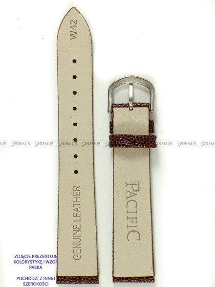 Pasek skórzany do zegarka - Pacific W42.14.2 - 14 mm