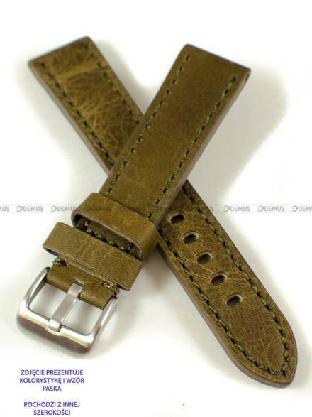 Pasek skórzany do zegarka - Pacific W48.22.9.9 - 22 mm