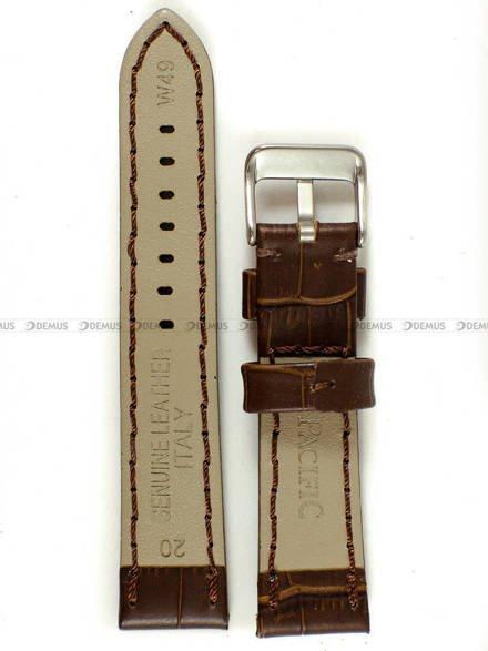 Pasek skórzany do zegarka - Pacific W49.20.2.2 - 20 mm
