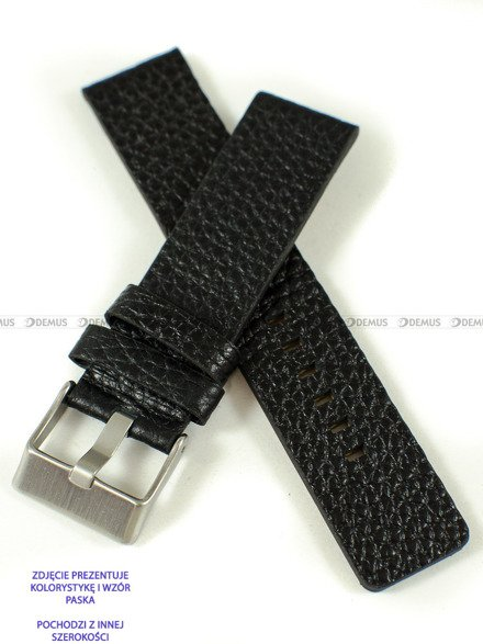 Pasek skórzany do zegarka - Pacific W60.28.1 - 28 mm