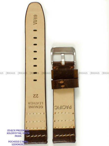 Pasek skórzany do zegarka - Pacific W69.24.2.2 - 24 mm