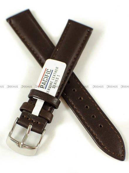 Pasek skórzany do zegarka - Pacific W70L.18.2.2 - 18 mm
