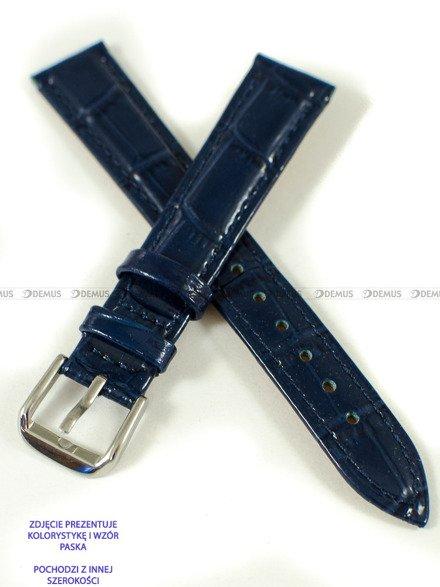Pasek skórzany do zegarka - Pacific W75.18.5.5 - 18 mm