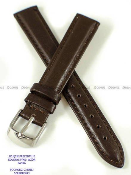 Pasek skórzany do zegarka - Pacific W83N.24.2.2 - 24 mm