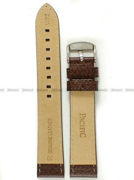 Pasek skórzany do zegarka - Pacific W92.20.3.3 - 20 mm