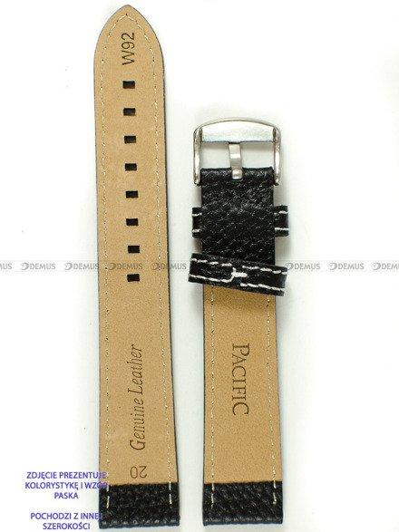 Pasek skórzany do zegarka - Pacific W92.24.1.7 - 24 mm