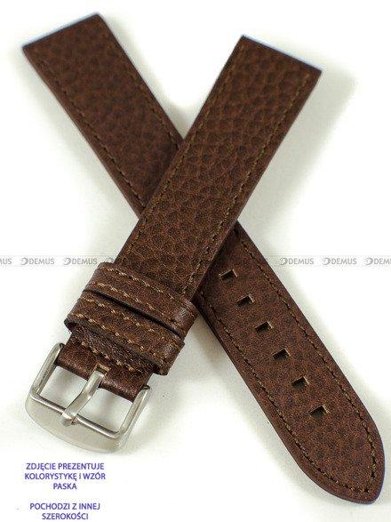 Pasek skórzany do zegarka - Pacific W92.24.3.3 - 24 mm