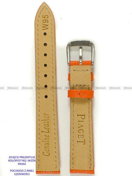 Pasek skórzany do zegarka - Pacific W95.18.12.12 - 18 mm