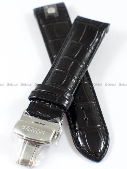 Pasek skórzany do zegarka Roamer - 508821 41 53 05 - 22 mm
